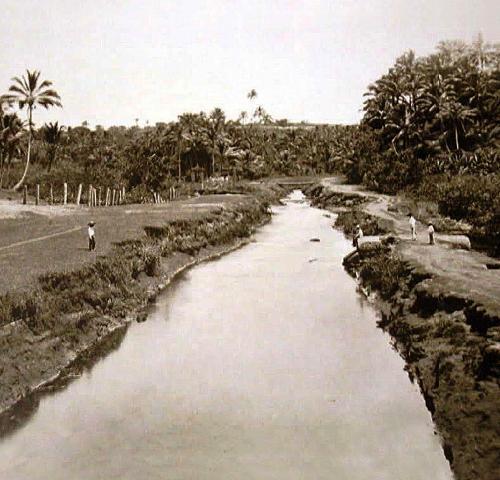Rio dos seixos